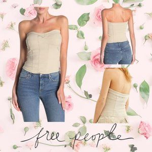 COPY - Free People You Too Tube Top Sand sz XS #F